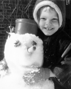 me with snowman