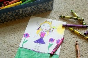 crayon fairy