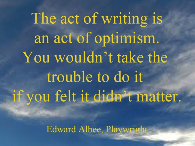 Edward Albee Quote